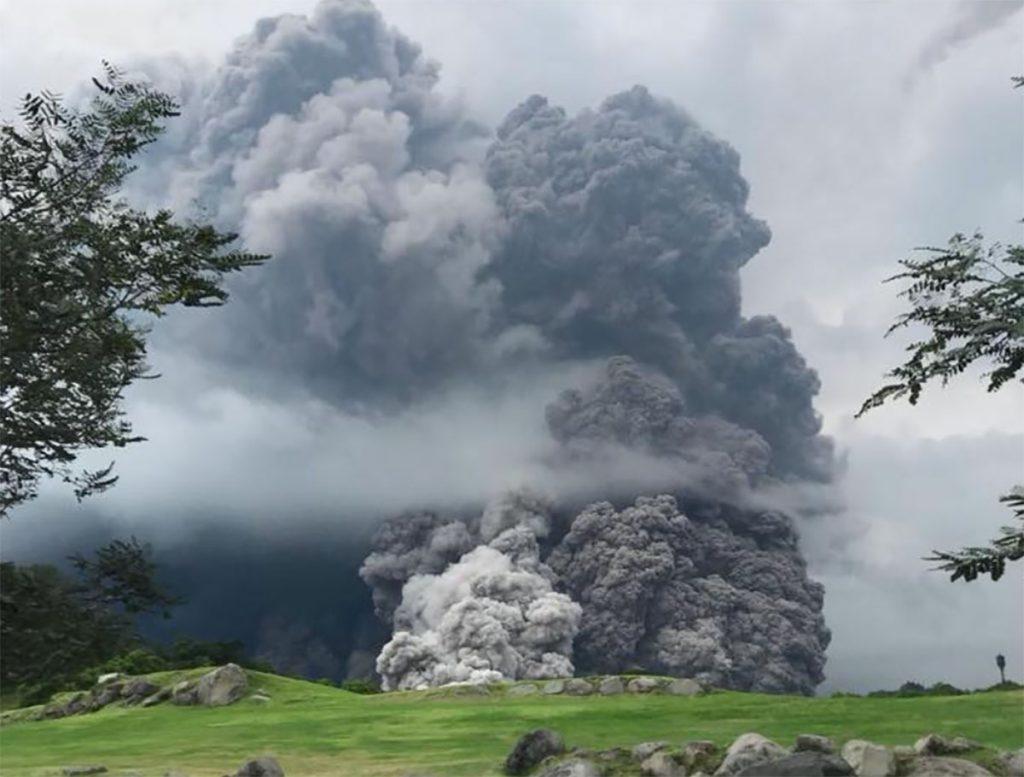erupción volcán de fuego reportaje anne fornier